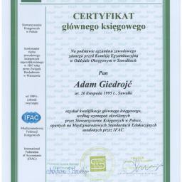 Biuro rachunkowe AGbiuro Adam Giedrojć - Porady Podatkowe Suwałki