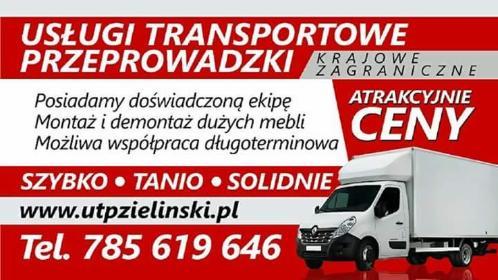 Usługi transportowe i Przeprowadzki Grzegorz Zieliński - Firma transportowa Bełchatów