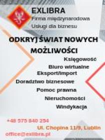 EXLIBRA - Biuro rachunkowe Lublin