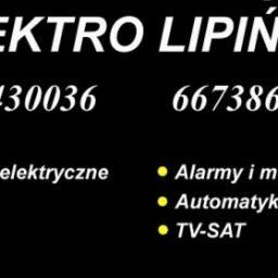 ELEKTRO LIPIŃSKI - kompleksowe instalacje elektryczne - Alarmy Kamienica