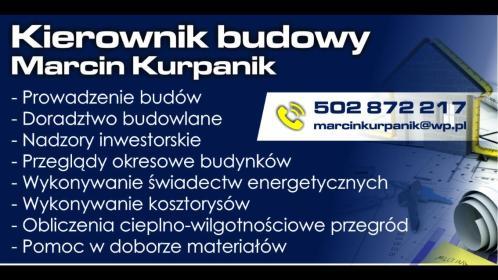Marcin Kurpanik - Nadzór Budowlany Żory