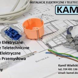 Kamel Instalacje Elektryczne I Teletechniczne - Oświetlenie Łazienki Gustawów
