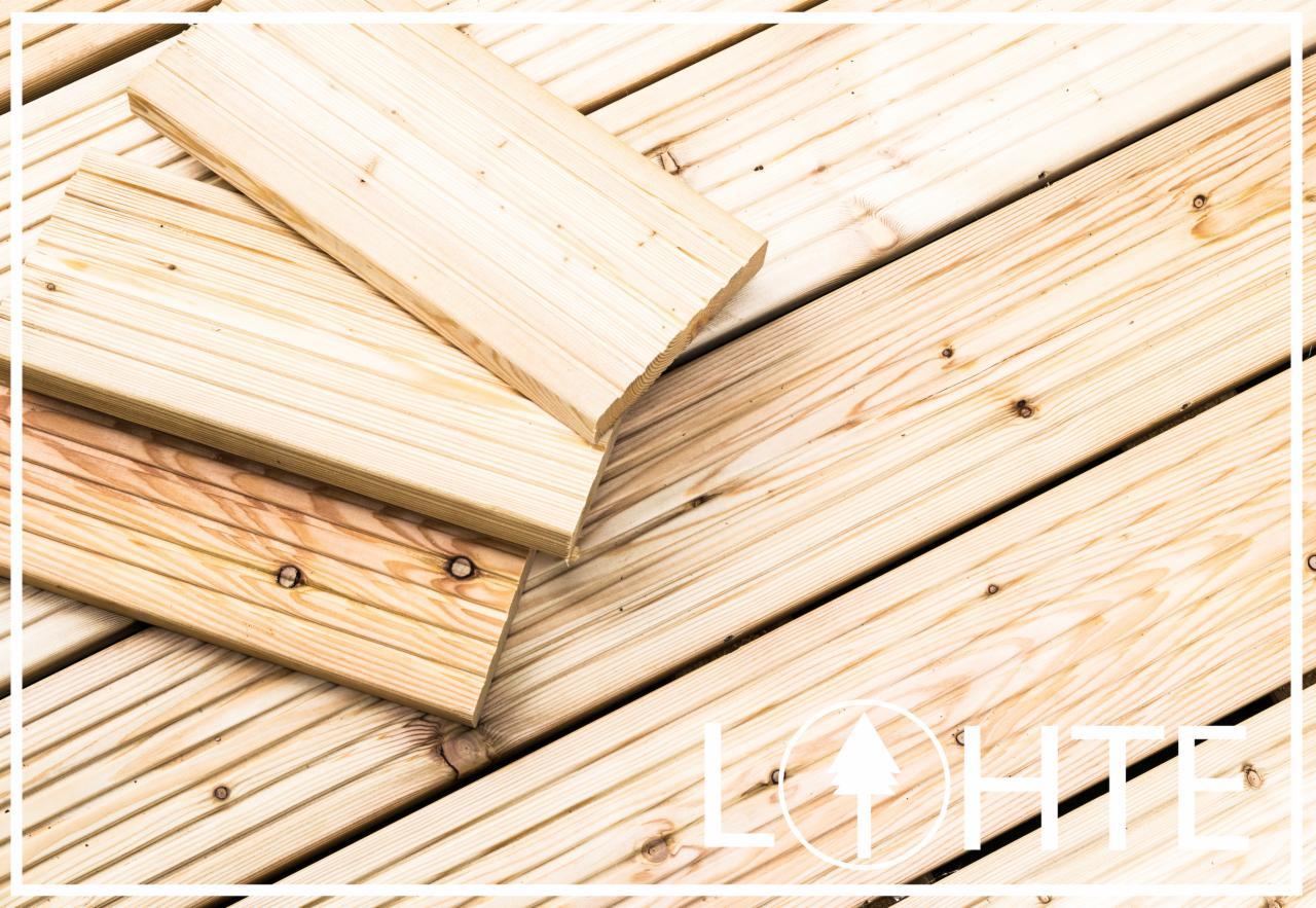 Potrzebuję Materiałów Drewnianych Deska Tarasowa 12m²