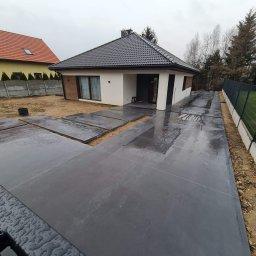 KACMAR- MORAWA CONCRETEFLOORS, DAWID-BARBARA MORAWA - Budowa Tarasów Mysłowice