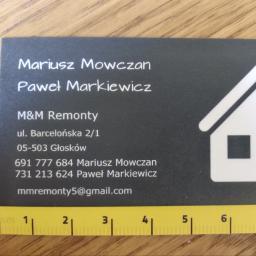 M&M Remonty - Hydraulik Głosków