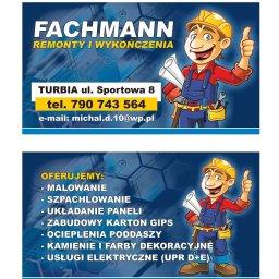 FACHMANN - Malowanie Åšcian Turbia
