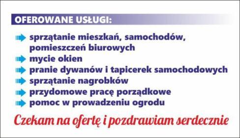 """""""BŁYSK"""" - Sprzątanie Piwnic Rzeczenica"""