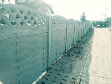 Ogrodzenia betonowe - Ogrodzenia z Betonu Wiaderno