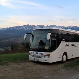 Transport busem Strzelin