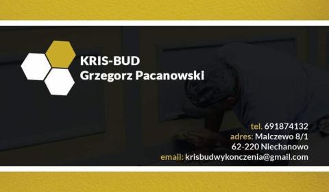 KRIS-BUD Grzegorz Pacanowski - Gładzie Szpachlowe Malczewo