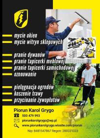 Piorun Karol Grygo - Sprzątanie Firm Ełk