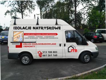 JTB Izolacje Natryskowe - Izolacja fundamentów Siąszyce