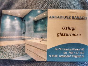 Usługi remontowo budowlane Banach Arkadiusz - Glazurnik Kasina Wielka