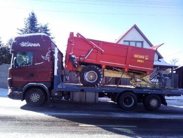 MK Agro-Trans - Firma transportowa Gierzwałd
