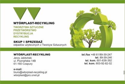 Wtórplast-recykling - Opakowania dla rolnictwa Babki