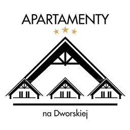 """logotyp """"APARTAMENTY na Dworskiej"""" w Spytkowicach"""