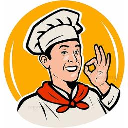 "logo ""Klawa Strawa"" na bloga kulinarnego"