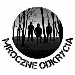 """logotyp """"MROCZNE ODKRYCIA"""""""