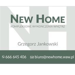 New Home, Kompleksowe Wykończenia Wnętrz - Szpachlowanie Ścian Warszawa