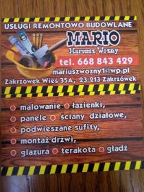 MARIO - Remonty mieszkań Zakrzówek