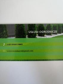 Ol-Wid - Utrzymanie Ogrodów Bobrowice