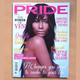Publikacja w brytyjskim czasopiśmie Pride