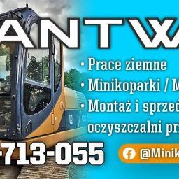 Usługi ziemne minikoparką ANTWIR Roman Juszczak - Usługi Konin