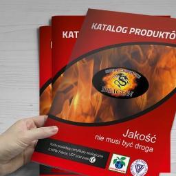 Realizacja dużego katalogu dla branży kotlarskiej