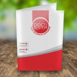 Teczka ofertowa dla firmy DOCU SYSYEM