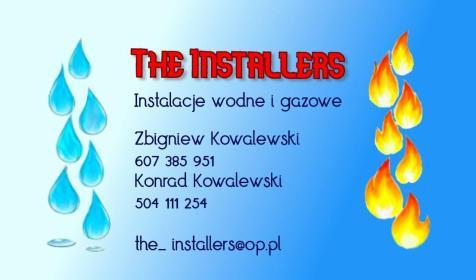 The Installers - Instalacje sanitarne Leszno