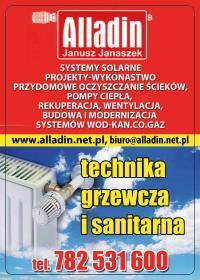 ALLADIN Janusz Janaszek - Urządzenia, materiały instalacyjne Świecie