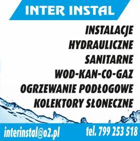 Inter Instal - Instalacje Wodno-kanalizacyjne Zawiercie