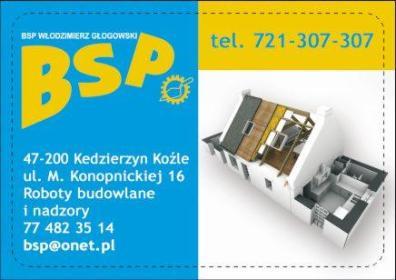 Włodzimierz Głogowski BSP - Ławy Fundamentowe Kędzierzyn-Koźle