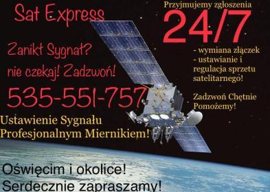 Sat Express 24/7 serwis anten - Fachowcy Oświęcim