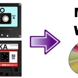 Przegrywanie kaset magnetofonowych na CD lub MP3