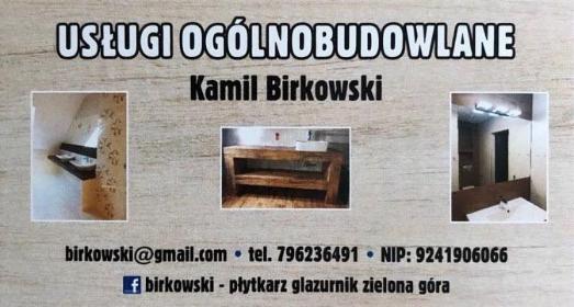Kamil Birkowski - Glazurnik Zielona Góra