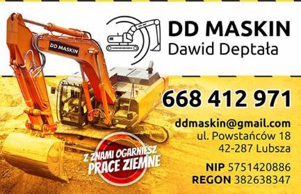 DD MASKIN - Układanie kostki brukowej Kamienica