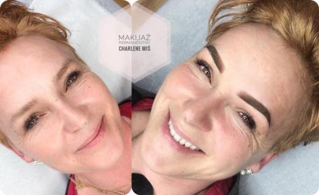 Makijaż permanentny Charlene Miś - Salon kosmetyczny Wrocław