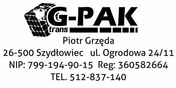 G-PAK trans - Spedycja Międzynarodowa Barak