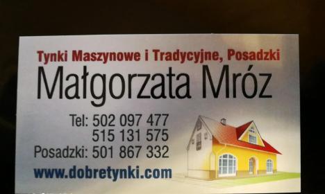 Usługi remontowo-budowlane Małgorzata Mróz - Murarz Rybienko nowe