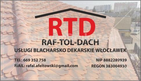 Raf-Tol-Dach - Opierzenie Dachu Włocławek