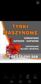 Firma Tynkarska Czop - Tynki maszynowe Sieniawa