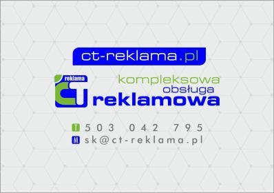 CT Reklama - Naklejki Szczecin