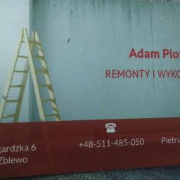Piotrowski Adam - Projekty Łazienek Zblewo