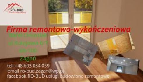 RO-BUD Rafał Orszulak - Firma remontowa Żagań
