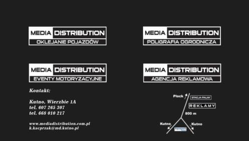 Media Distribution - Naklejki Kutno