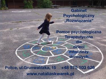 """Gabinet psychologiczny """"Rozwiązania"""" - Terapia uzależnień Police"""