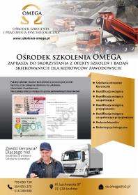 Omega-szkolenia - Medycyna pracy Serock