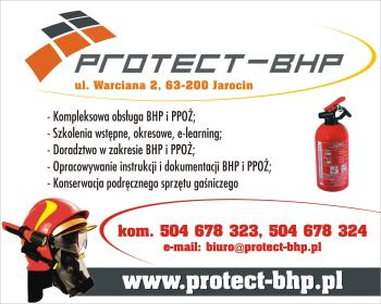 PROTECT-BHP Łukasz Parysek - Szkoleniowiec Jarocin