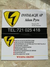 INSTAL AD Adam Pyra - Inteligentny dom Tuszyma